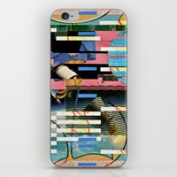 BLUE BALLS (Space is the Place) iPhone & iPod Skin