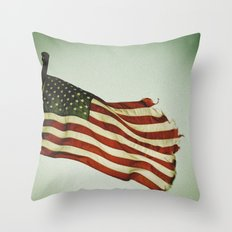 My Country Throw Pillow