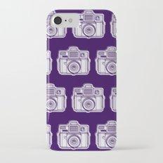 I Still Shoot Film Holga Logo - Reversed Deep Purple iPhone 7 Slim Case