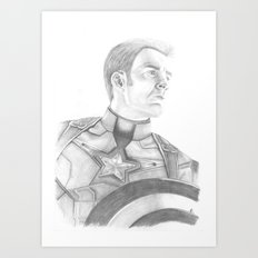 Cap Art Print