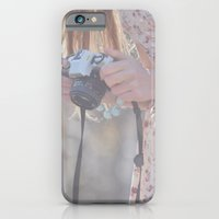 iPhone & iPod Case featuring Girl by Valerie Bee