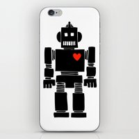 Loverbot iPhone & iPod Skin