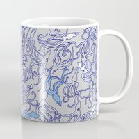 Squids of the inky ocean Mug