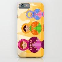 iPhone & iPod Case featuring Matrioskas 2 (Russian dolls 2) by Alapapaju