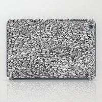 Black & White Rocks iPad Case