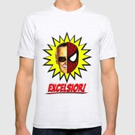 T-shirt featuring EXCELSIOR!  |  Stan Lee … by Silvio Ledbetter
