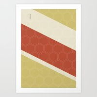 Geo Block No. 2 Art Print