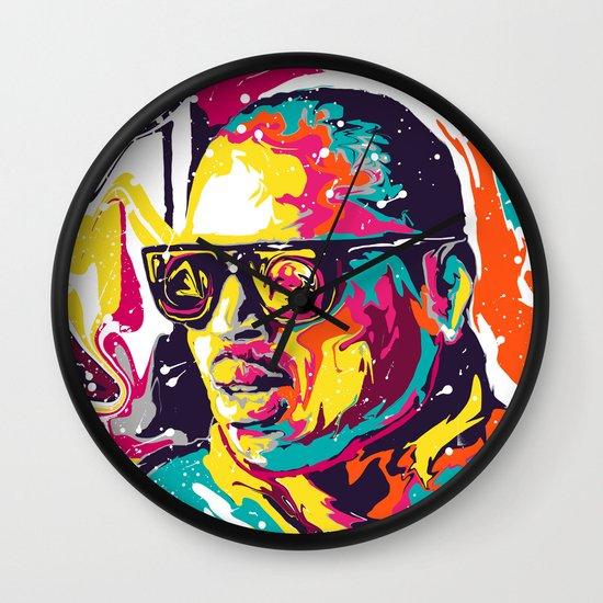Chris Brown Wall Clock