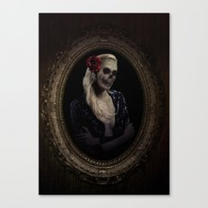 Out of the Skeletal Past Canvas Print