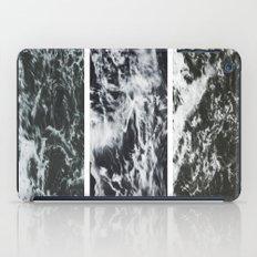 Saltwater Trytych Var II - blacks iPad Case