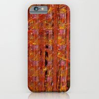 Abstract  ~ Rust Imprint iPhone 6 Slim Case