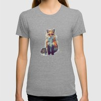 Fox Womens Fitted Tee Tri-Grey SMALL