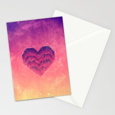Interstellar Heart III Stationery Cards