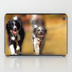 two dogs iPad Case