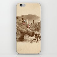 Teddy's Back! iPhone & iPod Skin