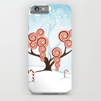 iPhone & iPod Case featuring Magic Candy Tree - V3 by Ruxique