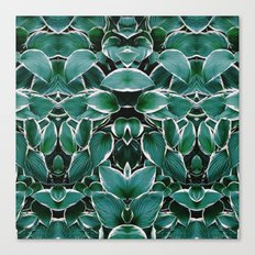 50 Shades of Green (8) Canvas Print