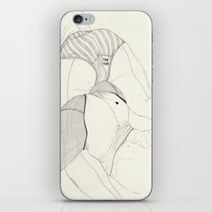 Leg Sketch 4 iPhone & iPod Skin