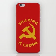 Sharing Is Caring iPhone & iPod Skin