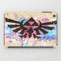 Splash Triforce Emblem iPad Case