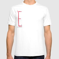 love is  Mens Fitted Tee SMALL White