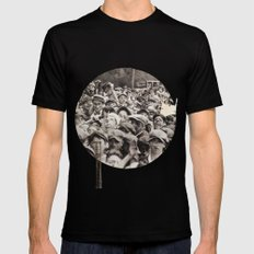 guests Black Mens Fitted Tee SMALL