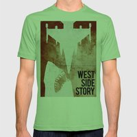 west side story Mens Fitted Tee Grass SMALL