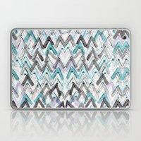 ZigZag Blue Laptop & iPad Skin