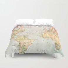 Pastel World Duvet Cover