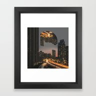Framed Art Print featuring Fever Dream by Witchoria
