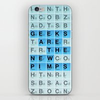 Geeks Are The New Pimps iPhone & iPod Skin