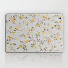 vintage floral vines - spring colors Laptop & iPad Skin