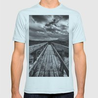 The Bridge Mens Fitted Tee Light Blue SMALL