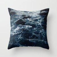 Salt Water Study Throw Pillow