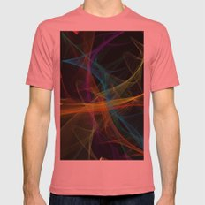 Destiny Mens Fitted Tee Pomegranate SMALL
