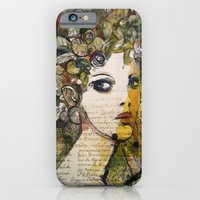 Fragment of a portrait iPhone 6 Slim Case