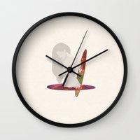 Lost In A Portal  Wall Clock