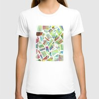 Collage Womens Fitted Tee White SMALL