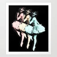 Dancing Girls Art Print
