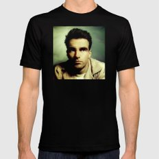 Montgomery Clift Mens Fitted Tee Black SMALL