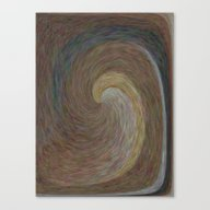Amber Wave Canvas Print
