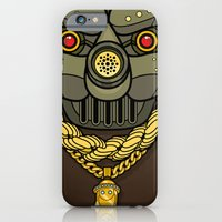 iPhone & iPod Case featuring All City King G.A.S. Mask by Freehand profit