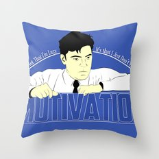 Motivation - Office Space Throw Pillow