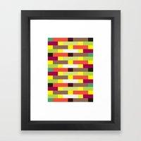 Brickwall (2013) Framed Art Print