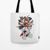 Tote Bag featuring Ωmega-3 by Eugenia Loli