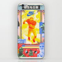 Charles Woodson Dazzles The Space Babe and Other Spectators, Nike Air Max Swamp Gut Bowl 1997 iPhone & iPod Skin