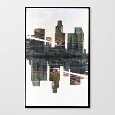 Landscapes c3 (35mm Double Exposure) Canvas Print