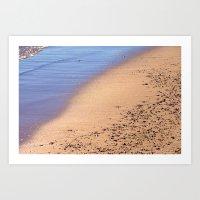 Beach 7238 Art Print