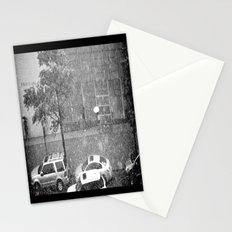 Rainy NYC Sidewalk Stationery Cards