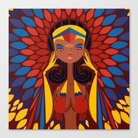 FIFA 2014 Samba Girls Series: Colombia Canvas Print